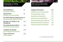 Sollingkurier 19 Inhaltsverzeichnis