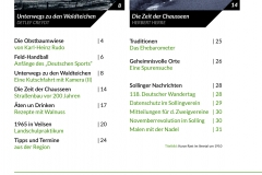 Sollingkurier 20 Inhaltsverzeichnis